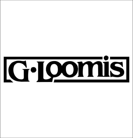 G Loomis decal, sticker, hunting fishing decal
