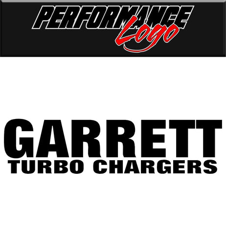 garrett turbo chargers decal performance decal sticker - North 49 Decals