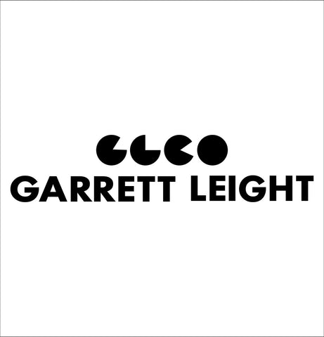 Garrett Leight decal, car decal sticker