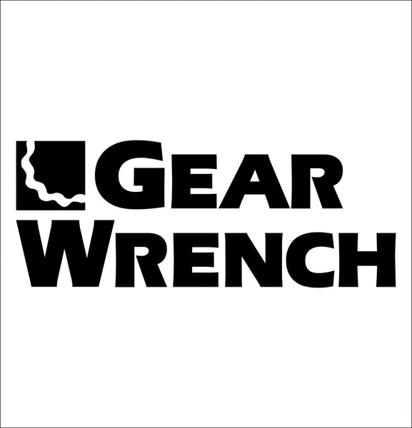 gearwrench decal, car decal sticker