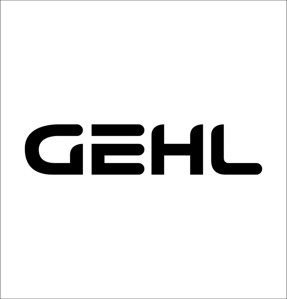 Gehl decal