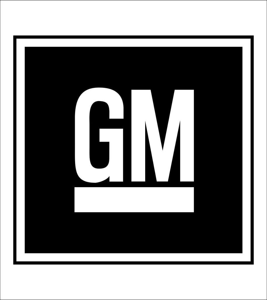 General Motors decal, sticker, car decal