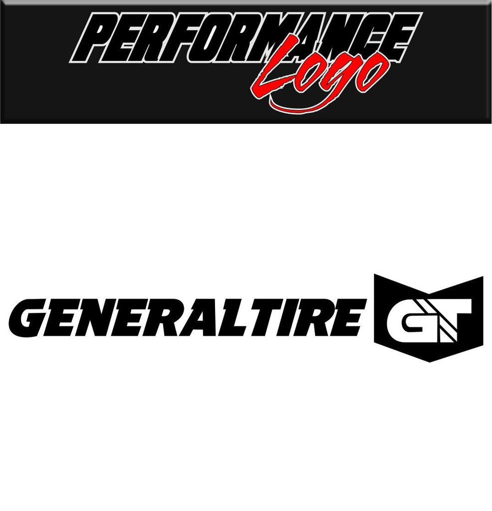 General Tire decal performance decal sticker - North 49 Decals