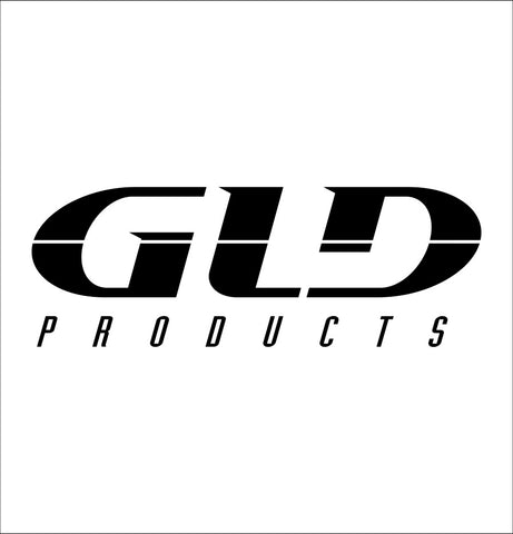 GLD Products decal, darts decal, car decal sticker