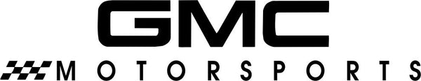 GMC Motorsports Racing decal, racing sticker