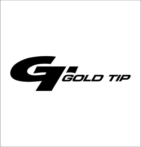 Gold Tip Arrows decal, sticker, car decal
