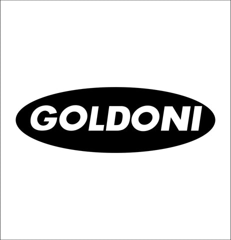Goldoni decal, farm decal, car decal sticker