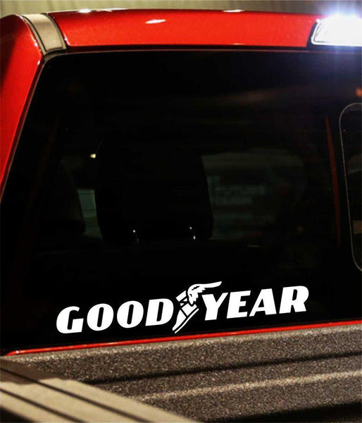 good year performance logo decal - North 49 Decals