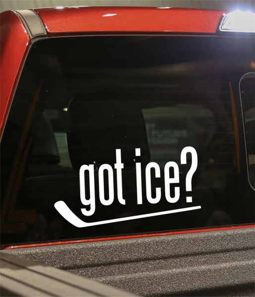 got ice hockey decal - North 49 Decals