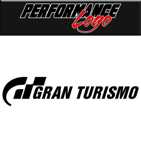 Gran Turismo decal performance decal sticker