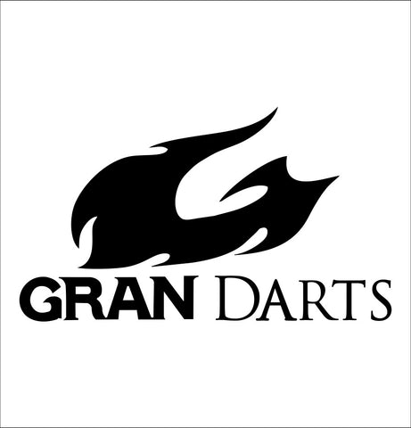 Gran Darts decal, darts decal, car decal sticker