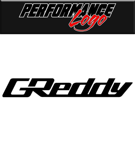 Greddy decal performance decal sticker
