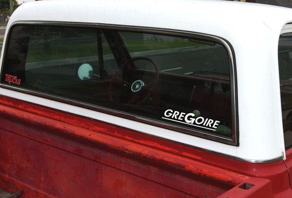 Gregoire decal, farm decal, car decal sticker