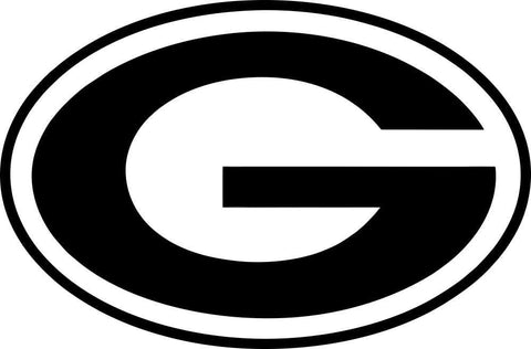 green bay packers car window decal