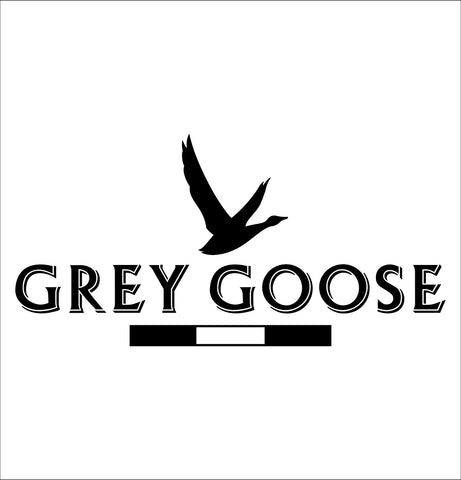Grey Goose decal, vodka decal, car decal, sticker