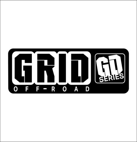 Grid Off Road decal, performance car decal sticker