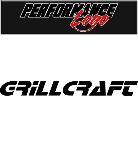 Grillcraft decal performance decal sticker