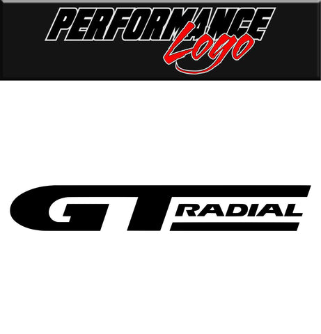 GT Radial decal, car decal, sticker