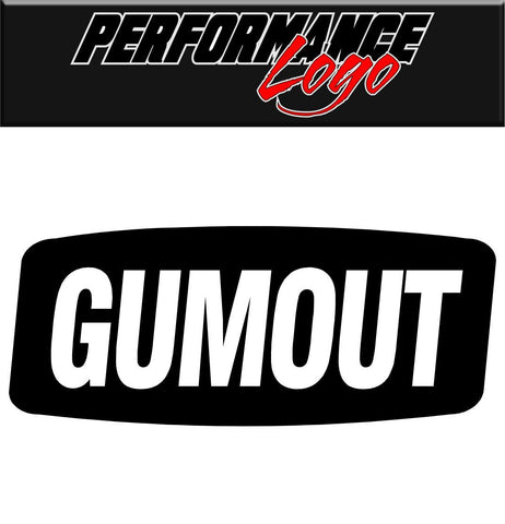 Gumout decal performance decal sticker