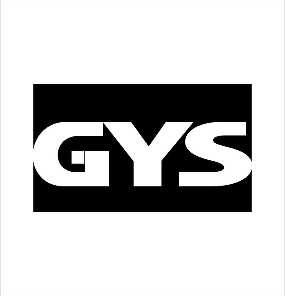 gys decal, car decal sticker