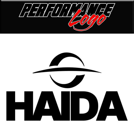 Haida Tires decal, performance car decal sticker