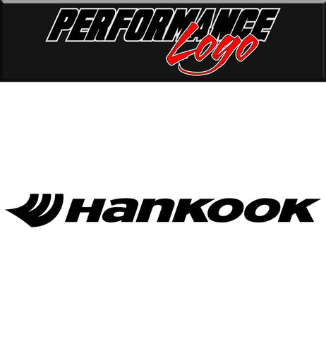Hankook Tire decal performance decal sticker