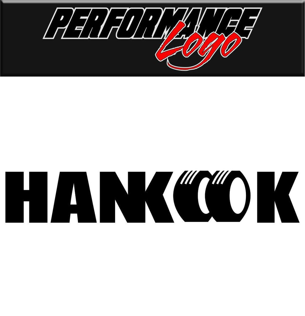 Hankook decal performance decal sticker
