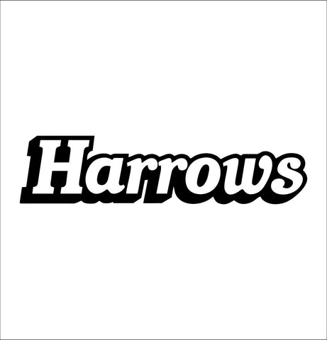 Harrows Darts decal, darts decal, car decal sticker