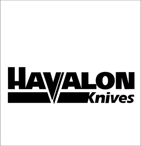 havalon knives decal, car decal sticker
