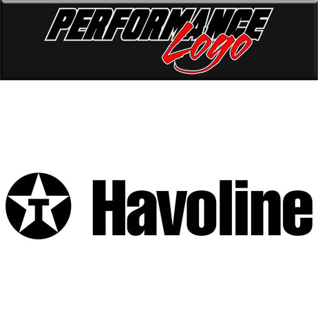 havoline decal performance decal sticker- North 49 Decals