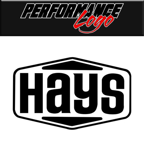 Hays Clutch decal, performance decal, sticker