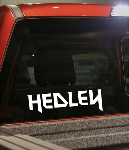 hedley band decal - North 49 Decals