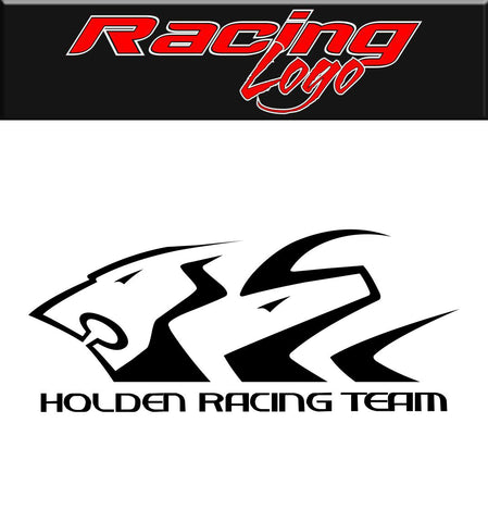 Holden Racing decal, racing sticker