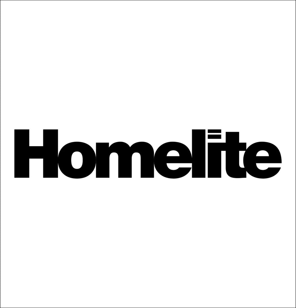 homelite decal, car decal sticker