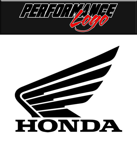 Honda decal performance decal sticker