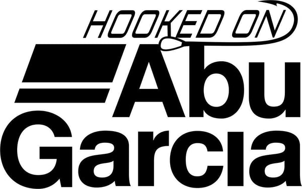 hooked on abu garcia fishing decal - North 49 Decals