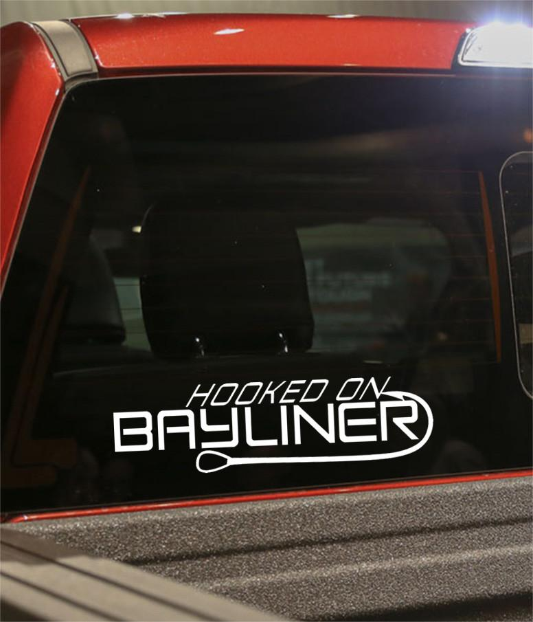 hooked on bayliner decal - North 49 Decals