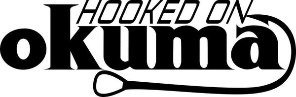 hooked on okuma fishing decal - North 49 Decals