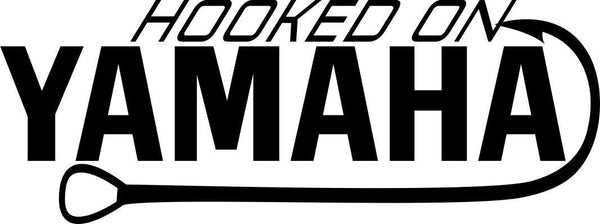 hooked on yamaha fishing decal - North 49 Decals
