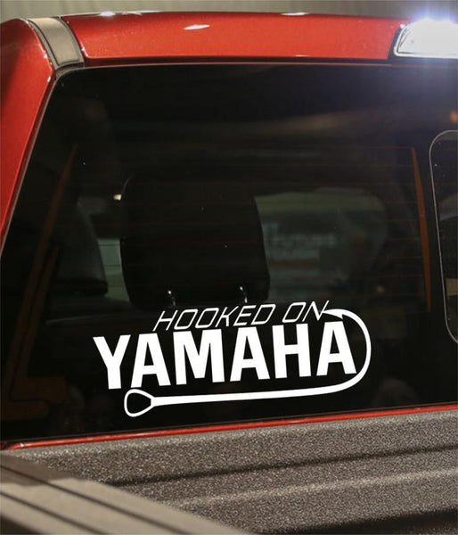 hooked on yamaha decal - North 49 Decals