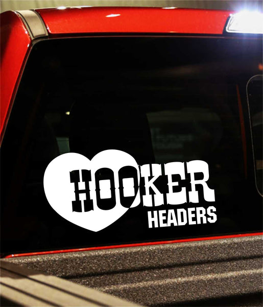 Hooker Headers decal, performance decal, sticker