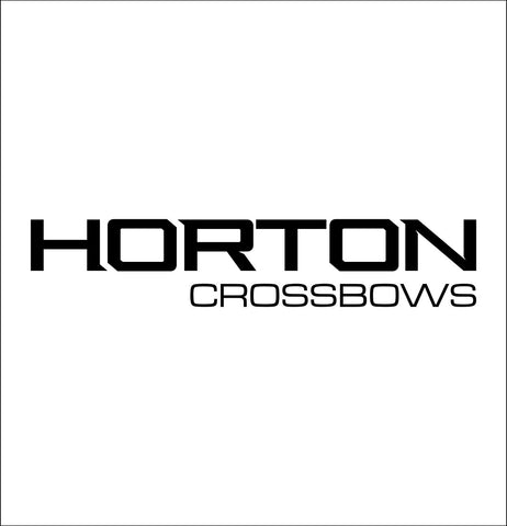 Horton Crossbows decal, sticker, hunting fishing decal