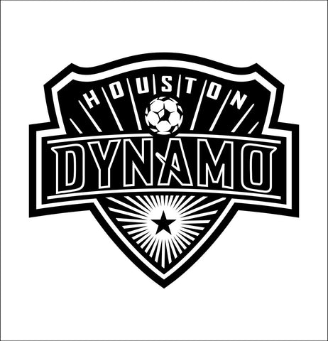 Houston Dynamo decal, car decal sticker