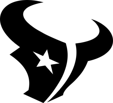 houston texans car window decal