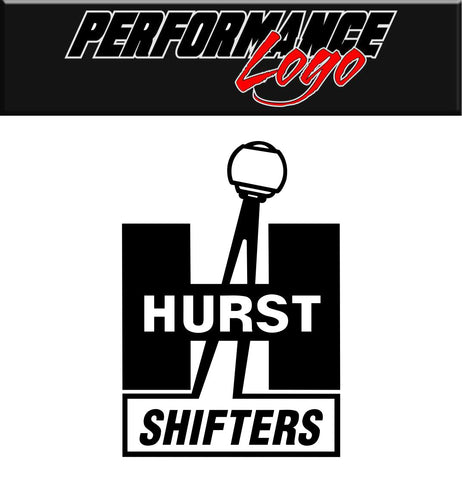 Hurst Shifters decal, performance decal, sticker
