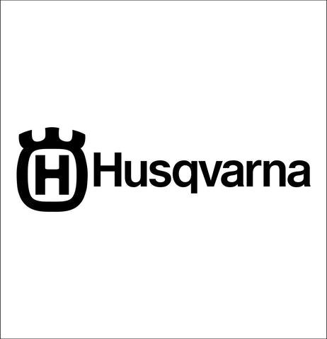 Husqvarna decal, farm decal, car decal sticker