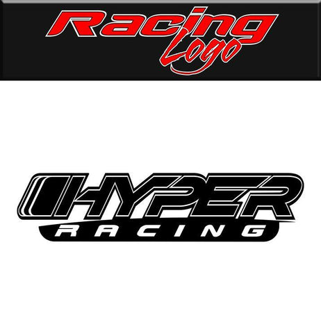Hyper Racing decal, racing sticker