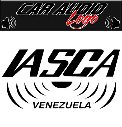 Iasca decal, sticker, audio decal