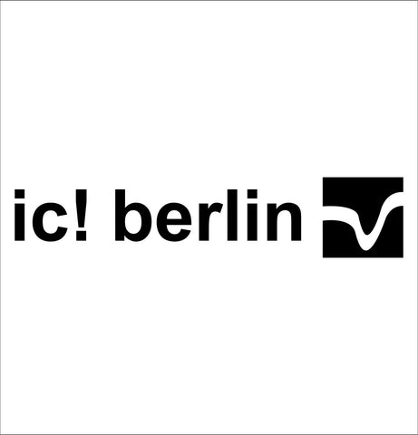 IC Berlin decal, car decal sticker