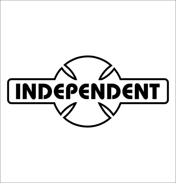 Independent trucks decal, skateboarding decal, car decal sticker